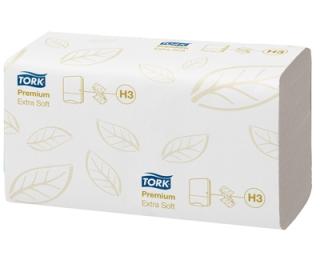 Tork Premium Zigzag V Fold Hand Towels H3 3000