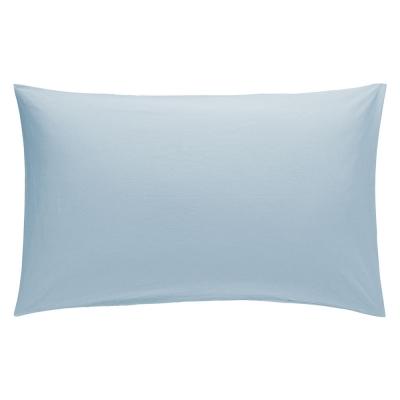 Pillow Case Pair 50cm x 75cm - Colour: Blue