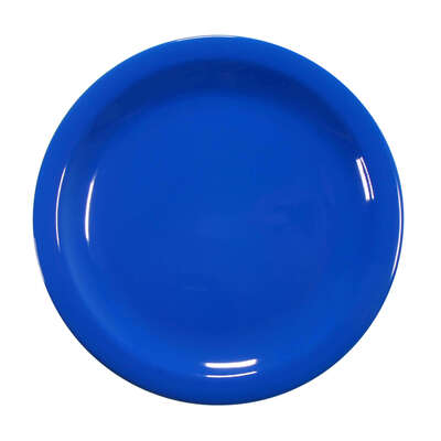 "Swixz Melamine Side Plate 6.25"" / 160mm 12 Pack - Colour: Blue"
