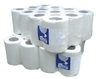 Mini Centrefeed 1ply 120m White x 12