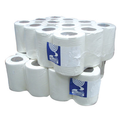Soclean Mini Centrefeed 120m 1ply White 12 Pack