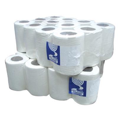Soclean Mini Centrefeed 1ply 120m White x 12