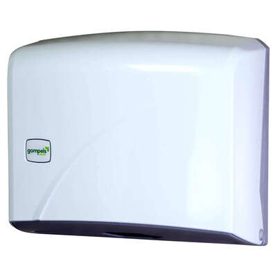 Z Fold Paper Towel Dispenser Bright White