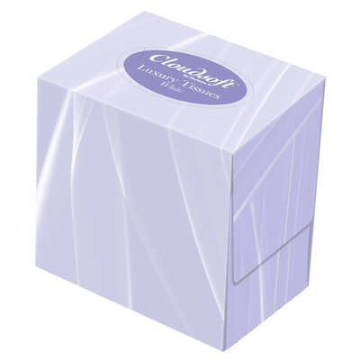 Cube Facial Tissues 2ply 24 Pack