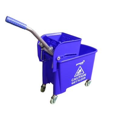 Soclean Mop Bucket With Wringer 20l - Colour: Blue