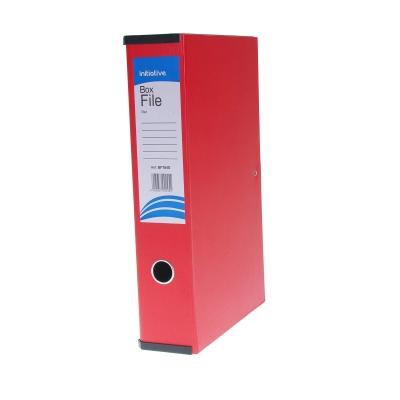Box File Foolscap A4 - Colour: Red