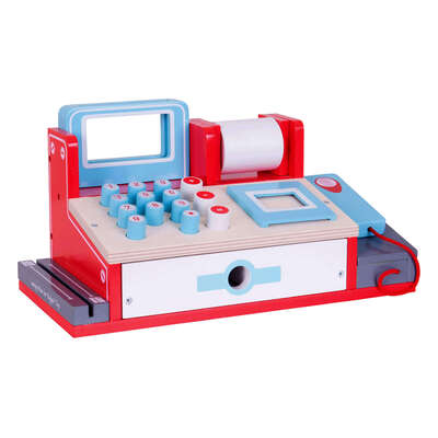 Shop Till With Scanner