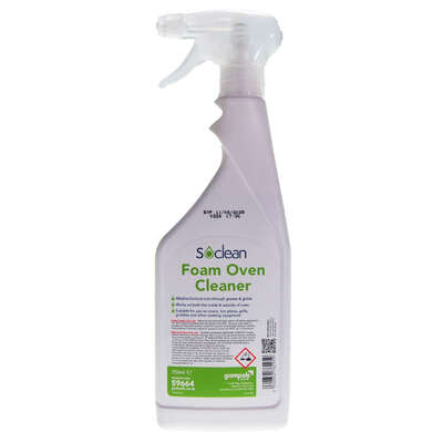 Soclean Foam Oven Cleaner 750ml 6 Pack