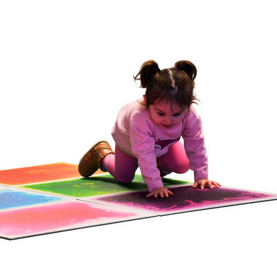 Sensory Floor Tiles Assorted 6 Pack