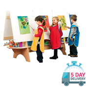 Six Child Double Easel