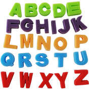 Foam Letter Shapes Upper Case x 26