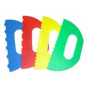 Plastic Paint or Sand Scrapers Set of 4