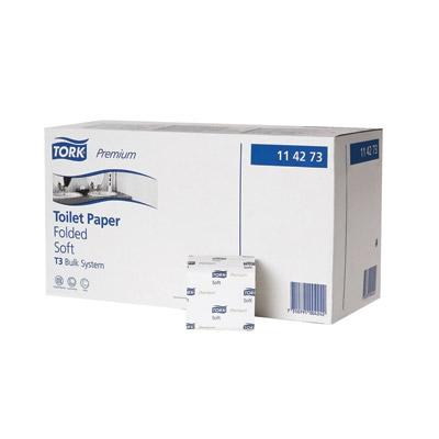 Tork Premium Toilet Paper Folded T3 30 x 252