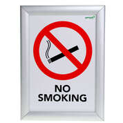 Gompels No Smoking/No Mobiles Sign A4