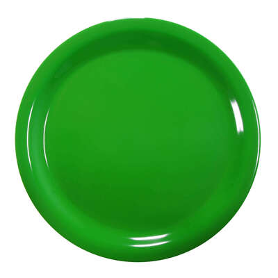"Gompels Super Tuff Dinner Plate 9"" / 230mm 12pk - Colour: Green"