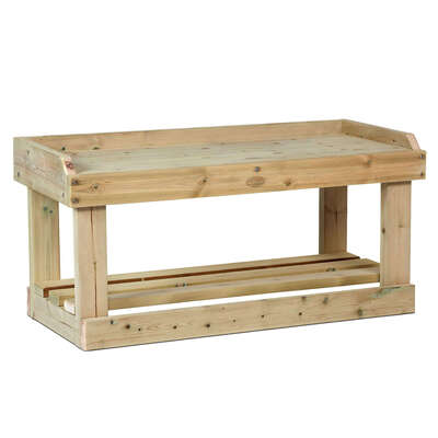 Wooden Busy Bench