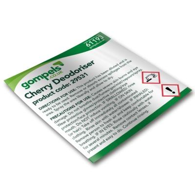 Labels for Bactericidal Deodoriser 29531 for Spray Bottles x 6