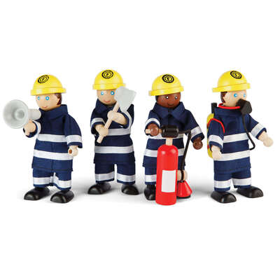 Small World Firefighters Set