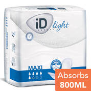 iD Light Shaped Pad Maxi 28