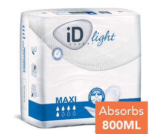 iD Light Shaped Pad Maxi 28