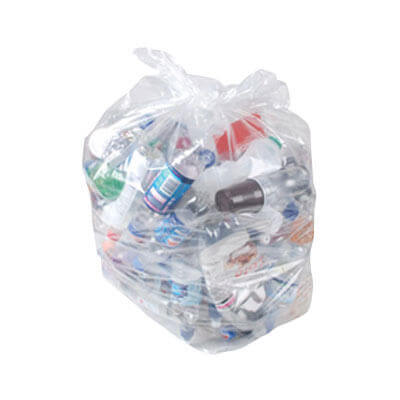 Soclean Clear Refuse Sack 200 Pack