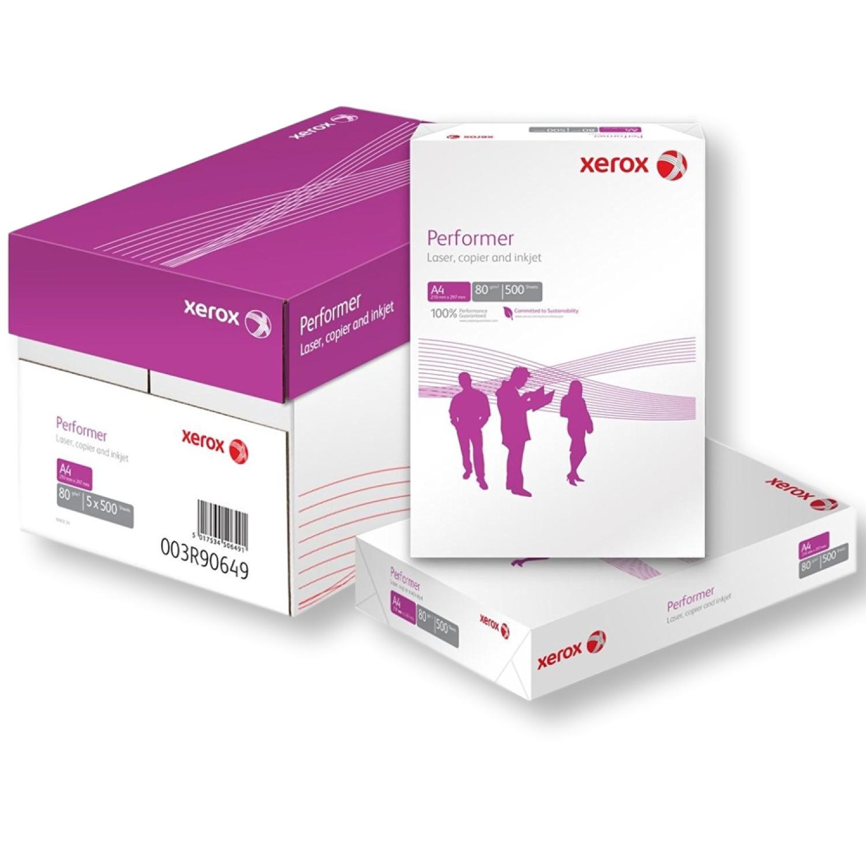 XEROX PERFORMER A4 WHITE 80GSM PRINTER PRINTING COPIER PAPER REAM BOX CHEAP!