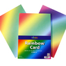 A4 Rainbow Card 30 Pack