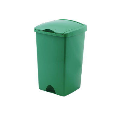 50 Ltr Lift Top Bin - Colour: Green