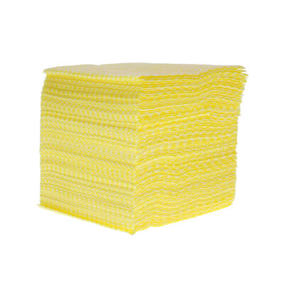 Soclean Disposable Cloths 100 Pack - Colour: Yellow