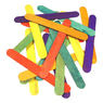 Gompels Assorted Colour Lolli Sticks Jumbo 100