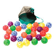 Soft Ball 9cm Assorted 30 Pack