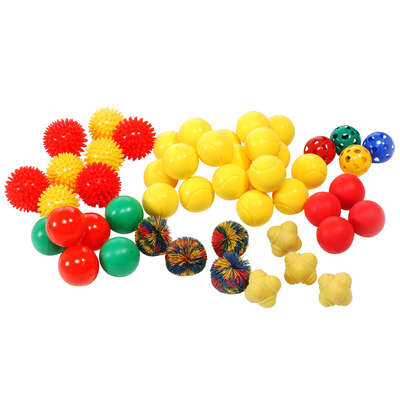 Assorted Small Balls 50 Pack