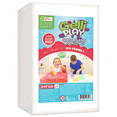 Messy Play Eco Gelli 1.2kg - Colour: Red