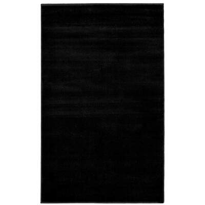 Plain Rug 120x170cm - Colour: Black