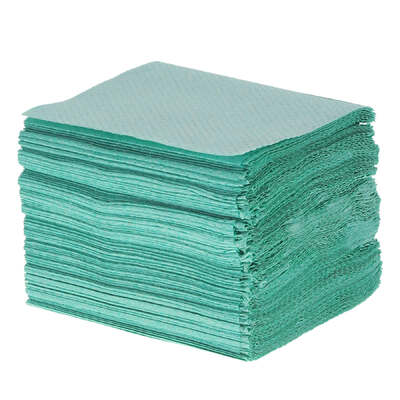 Childrens V Fold Green Paper Towels 1ply 7200