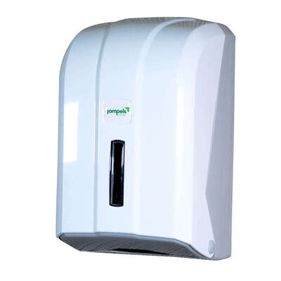 Loose Leaf Toilet Paper Dispenser White