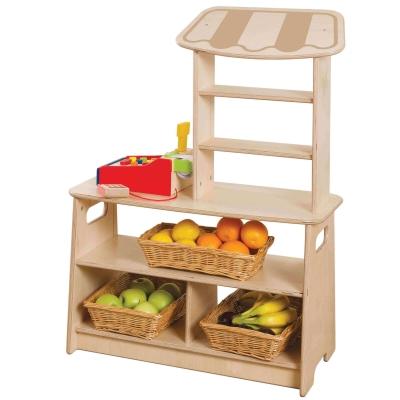 Toddler Wooden Market Stall