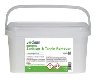 Gompels Sanitiser and Tannin Remover 5 Kg