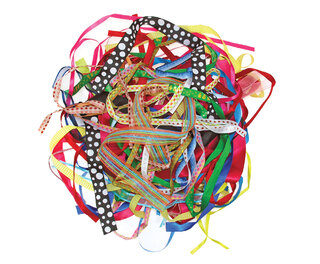 Ribbons Assorted 100g Bag