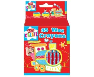 Wax Crayons x 45