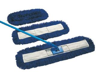 """Dust Buster Sweeper Blue 32"""""""