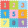 Foam Play Mat Tiles Numbers 9pc