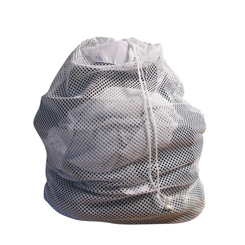 Mesh laundry bag white 609 x 914mm in sacks bags laundry bags gompels healthcare wholesale - X laundry bags ...