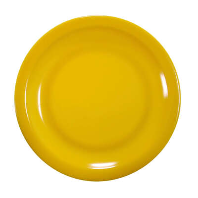 "Swixz Melamine Side Plate 6.25"" / 160mm 12 Pack - Colour: Yellow"