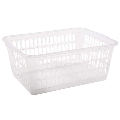 Large Storage Basket Clear