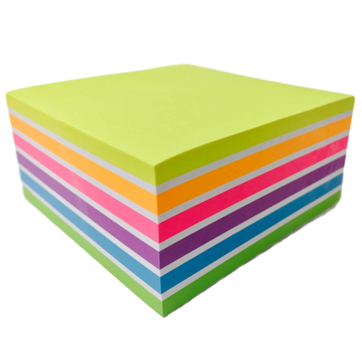 Sticky Notes Large Neon and Pastel 127mm x 76mm 12 Pack