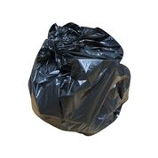 "Heavy Duty Black Sacks 90ltr 18x29x39"" 200"