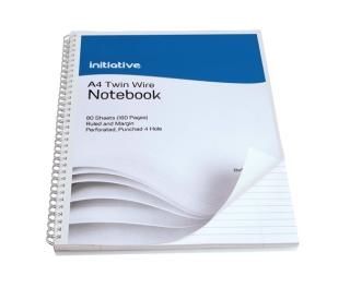 A4 Spiral Notebook 80 Sheet