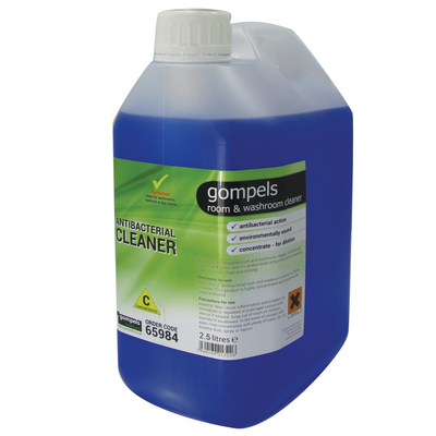 Gompels Concentrated Antibac Room and Washroom Cleaner 2.5 Litre