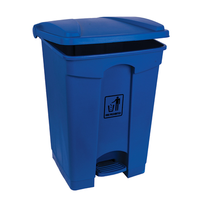 Soclean Pedal Bin 45l - Colour: Blue